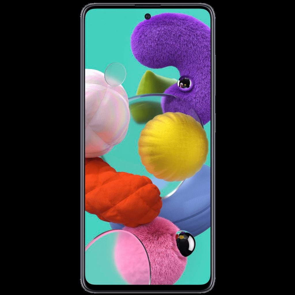 Les meilleurs smartphones pour moins de 300 euros en 2021 - Samsung Galaxy A51 www.heavybull.com