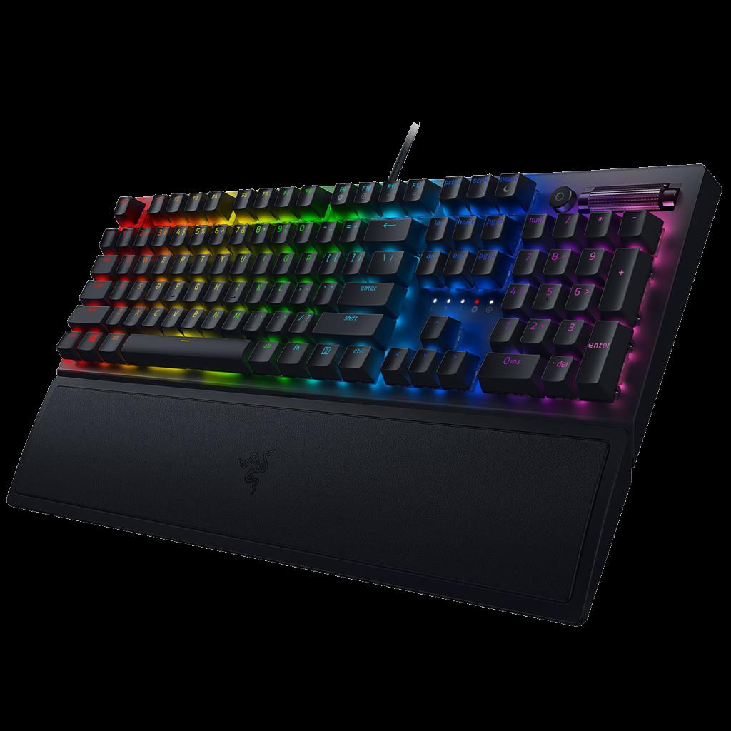 Le top des meilleurs claviers RGB pour gamer en 2021 - RAZER BLACKWIDOW V3 PRO