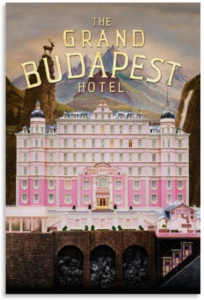 Idées de cadeaux pour un fan de cinéma Grand Budapest Hotel