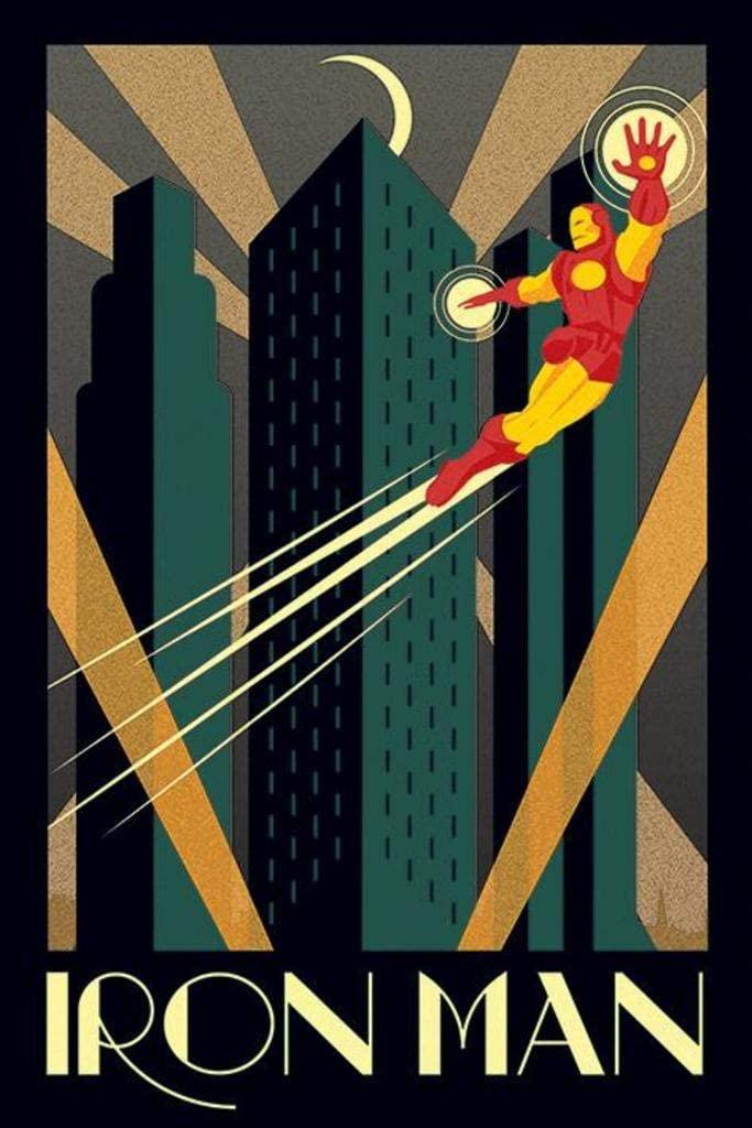 Idées de cadeaux pour un fan de Marvel Affiche rétro