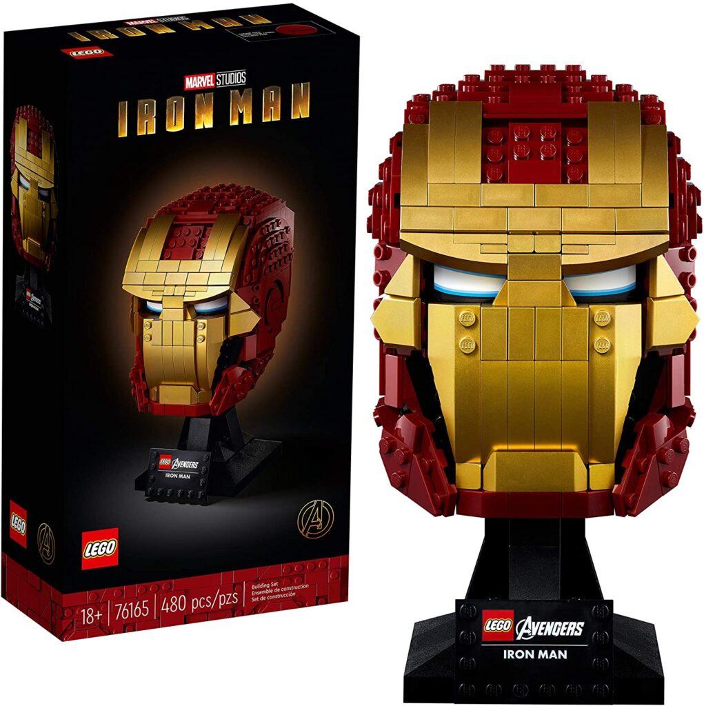 Idées de cadeaux pour un fan de Marvel Casque Iron Man