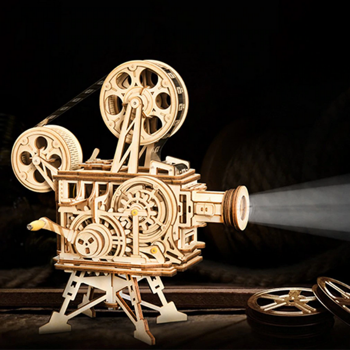Idées de cadeaux pour un fan de cinéma Maquette projo