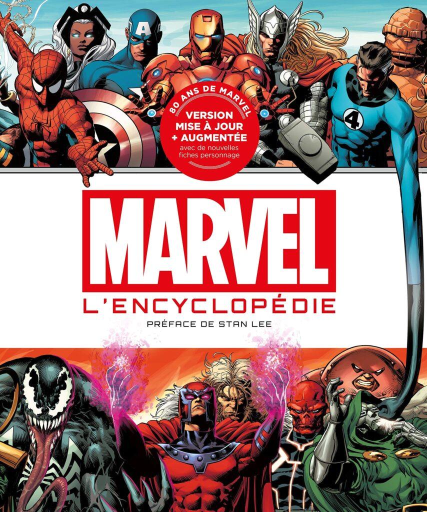 Idées de cadeaux pour un fan de Marvel Encyclopédie