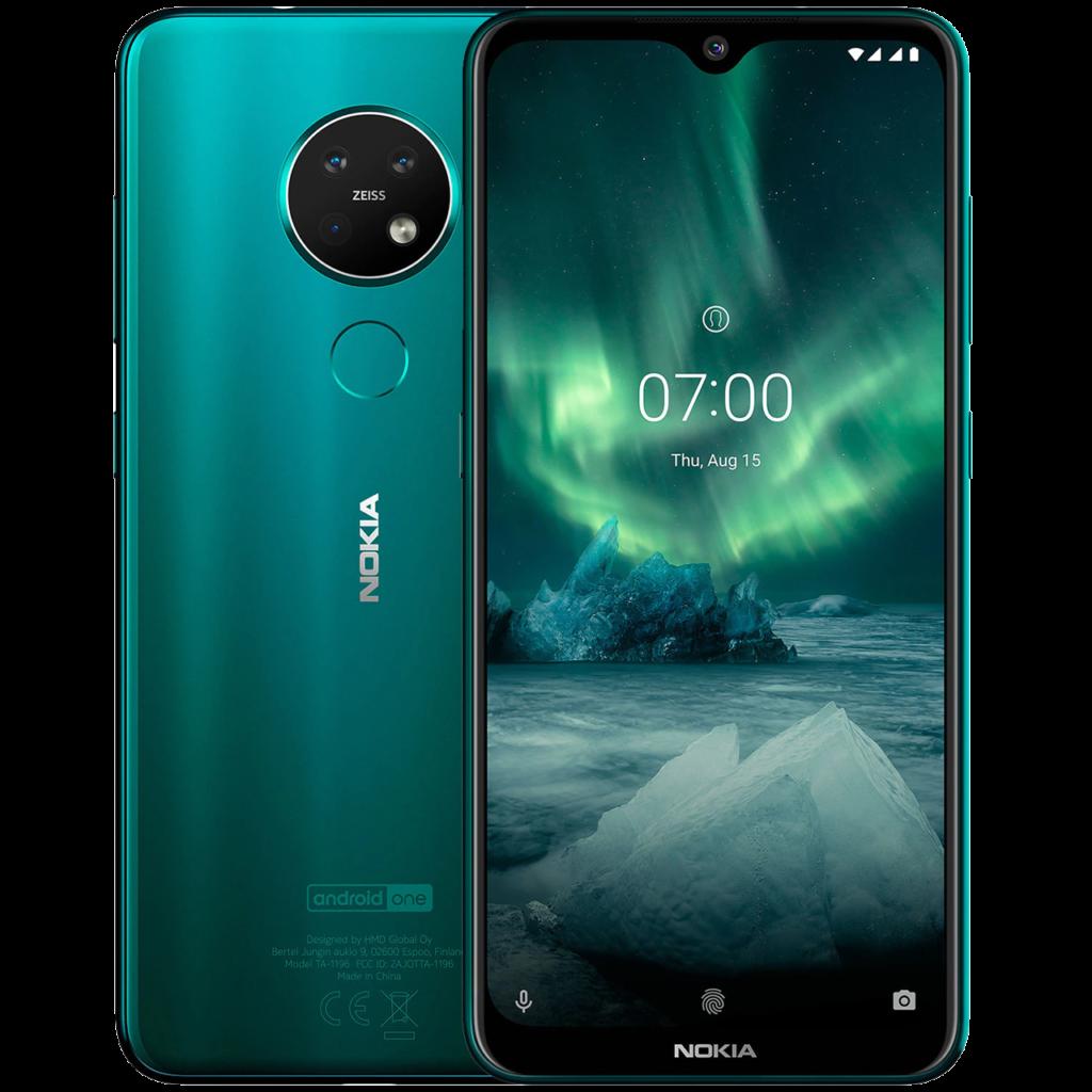 Les meilleurs smartphones pour moins de 300 euros en 2021 -Nokia 7.2 www.heavybull.com