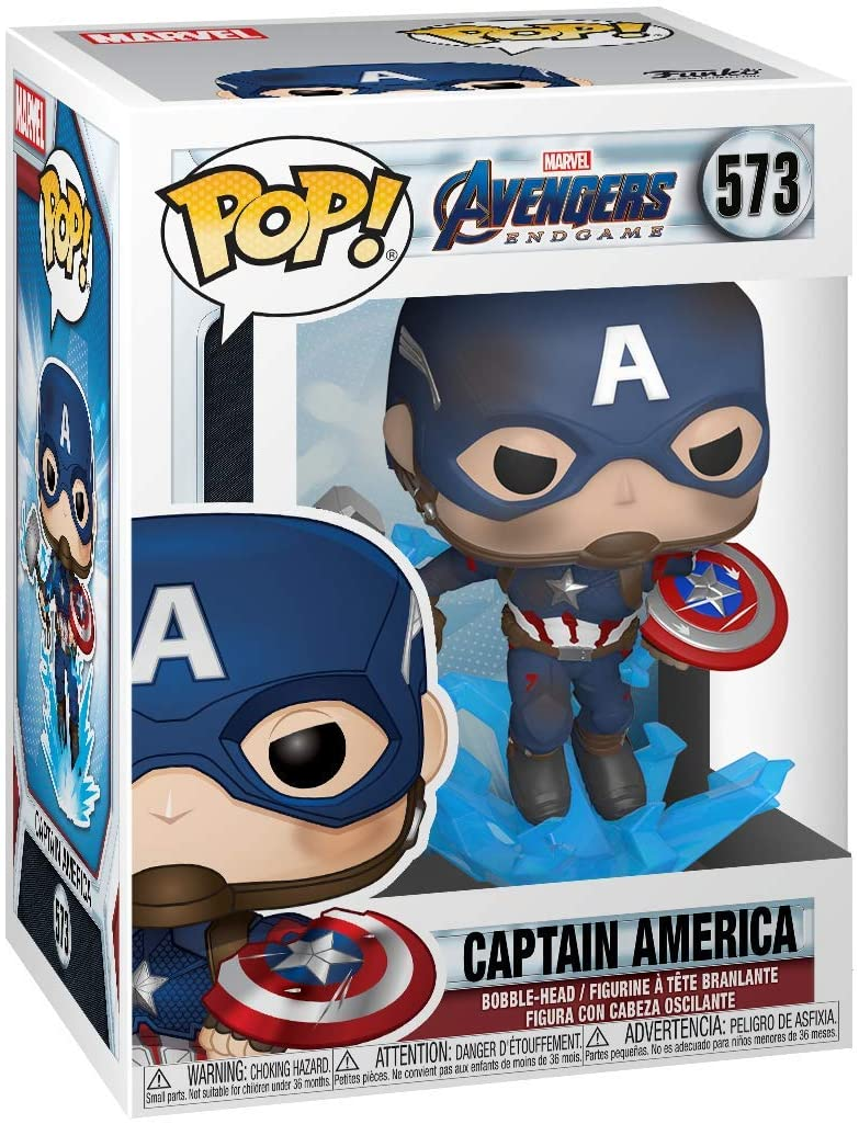 Idées de cadeaux pour un fan de Marvel Pop captain america