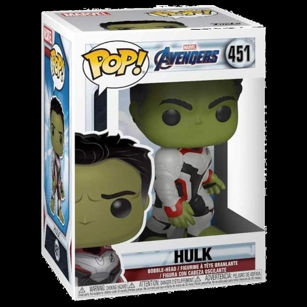 Idées de cadeaux pour un fan de Marvel Pop Hulk