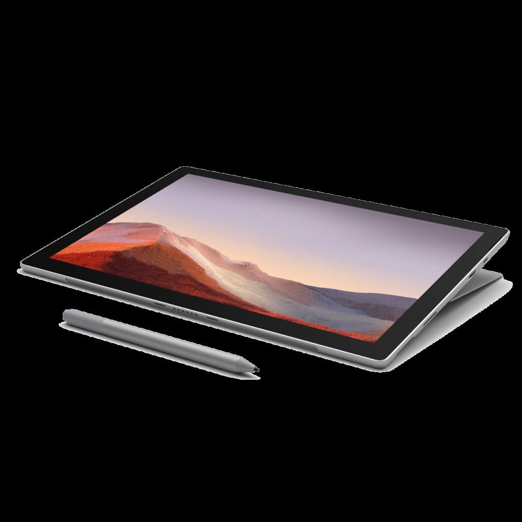 Top des meilleur ordinateurs 2-en-1 pour l'art et le graphisme en 2021 - Surface Pro 7 www.heavybull.com