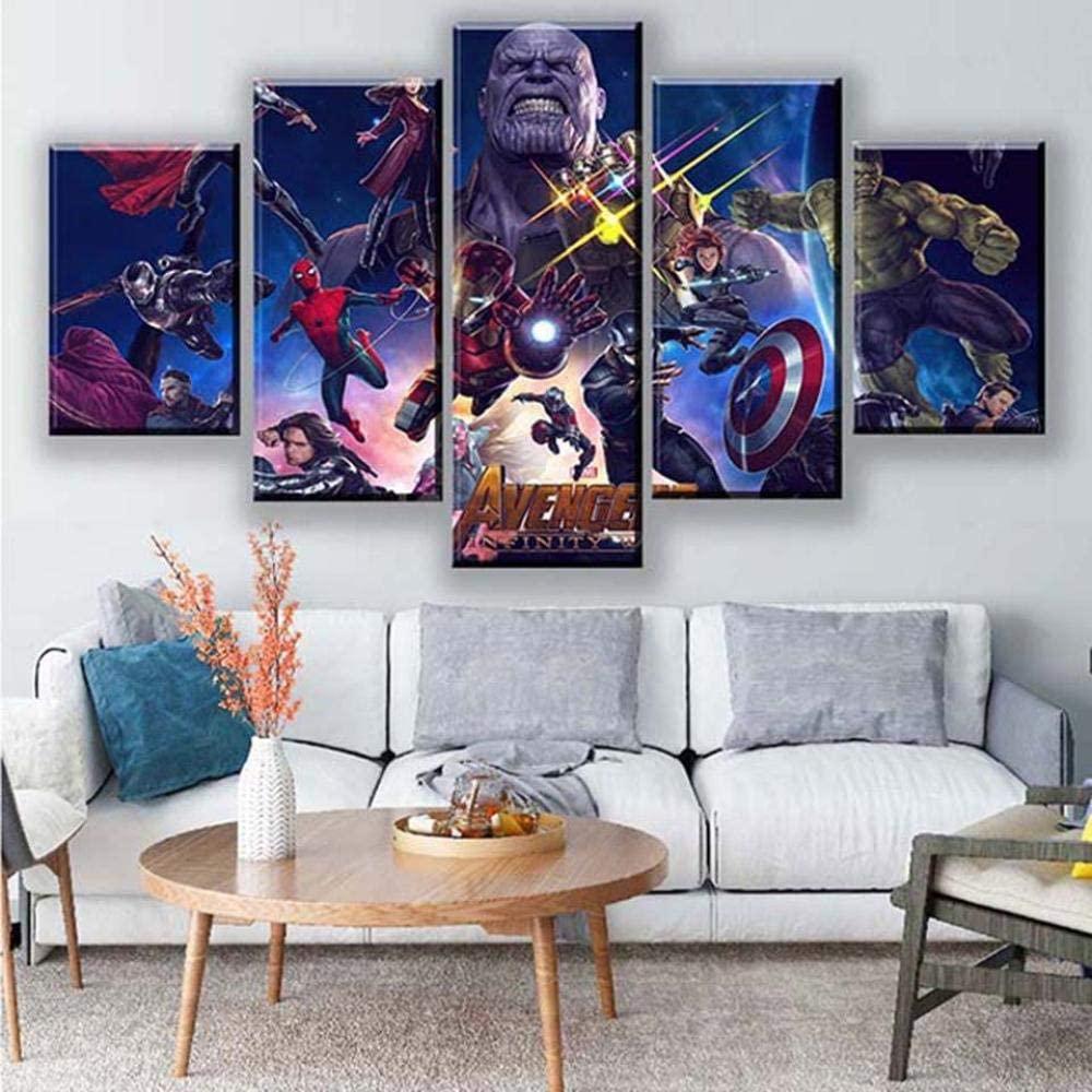 Idées de cadeaux pour un fan de Marvel Toile murale