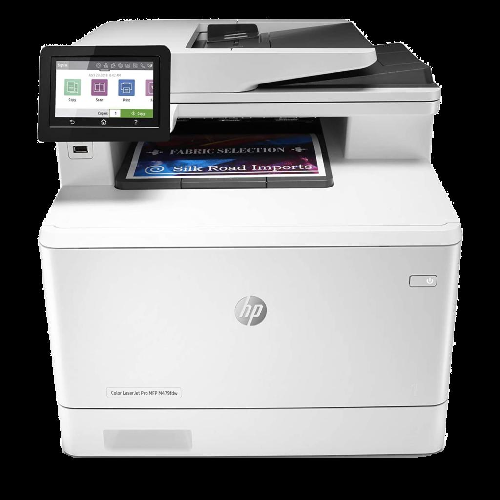 Le top des meilleures imprimantes multifonctions et WiFi en 2021 - HP Color LaserJet Pro M479fdw www.heavybull.com