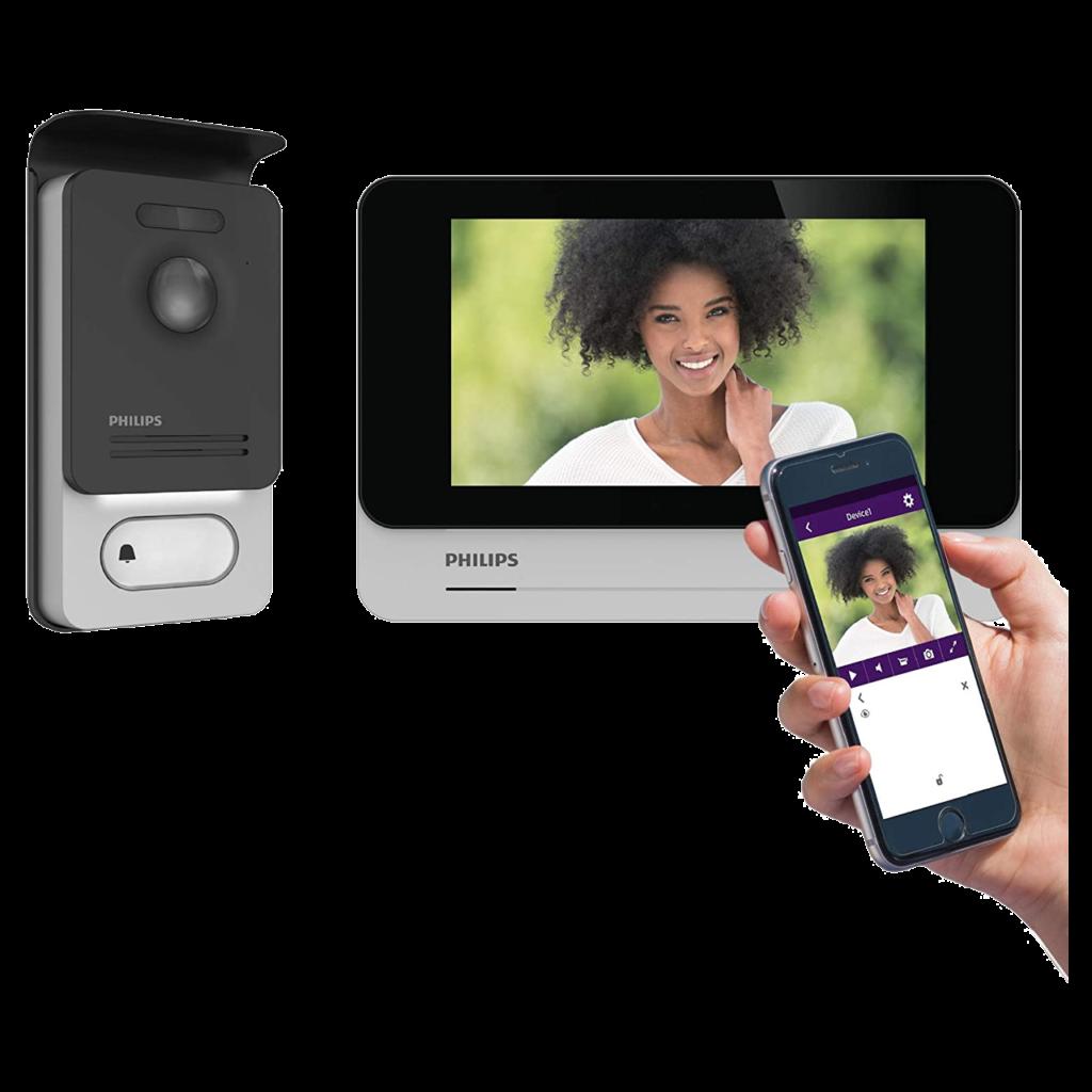Top des meilleurs interphones et sonnettes intelligentes en 2021 - Philips WelcomeEye Connect 2