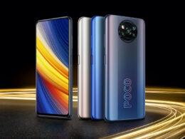 Le superbe Xiaomi Poco X3 Pro en version 256 Go voit son prix chuter