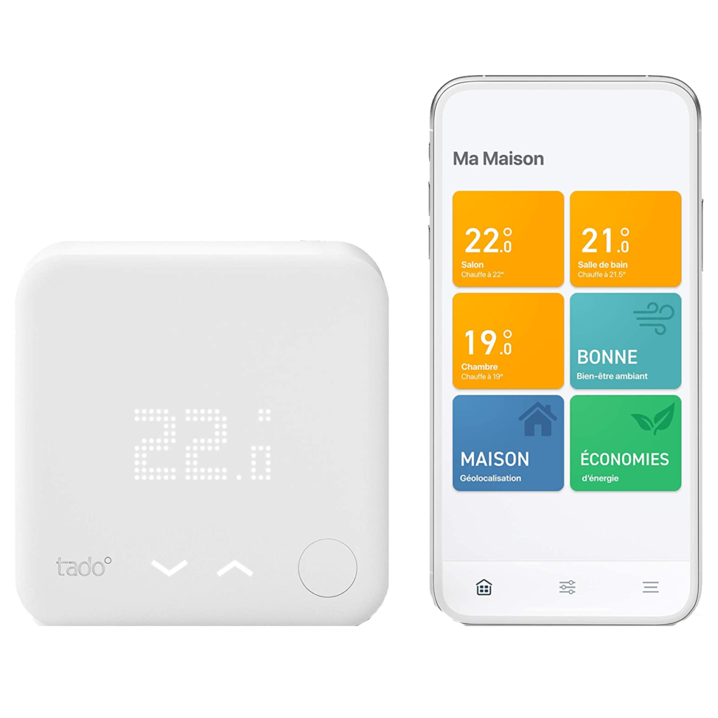 Le top des meilleurs thermostats WiFi en 2021 - Tado V3+