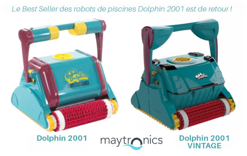 Robot de piscine DOLPHIN 2001 Vintage - www.heavybull.com
