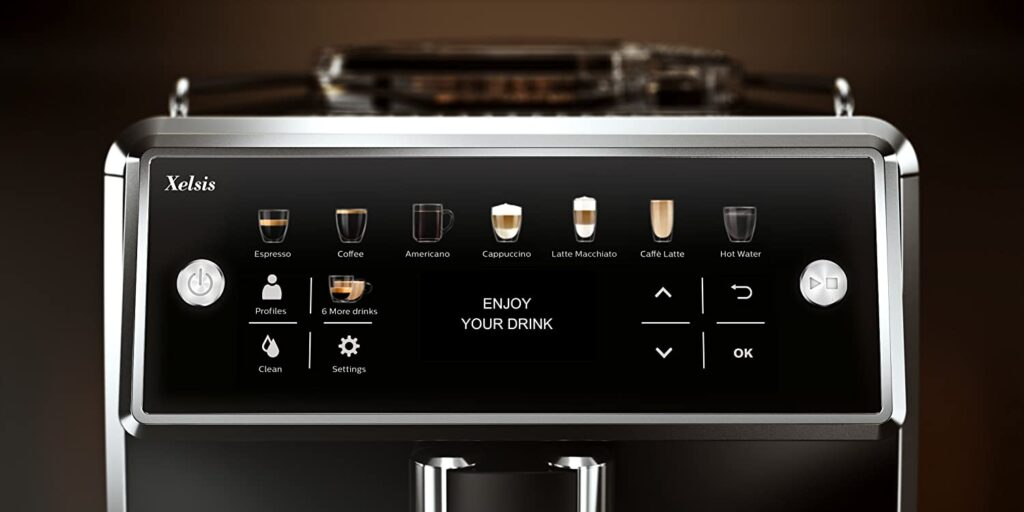 Machine à café SAECO XELSIS - www.heavybull.com