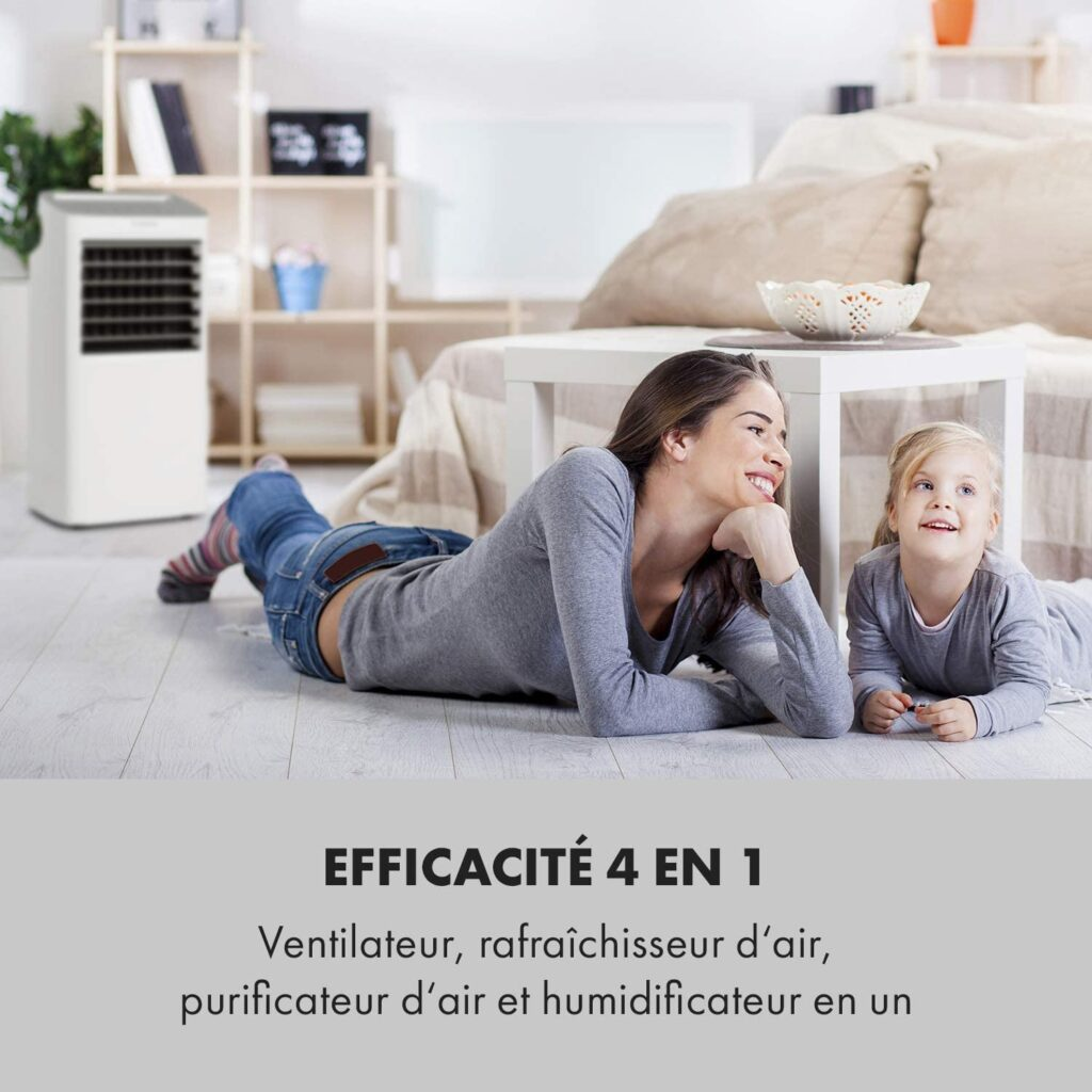 Climatiseur mobile KLARSTEIN COLDPLAYER   - www.heavybull.com