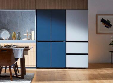 On vous parle de Samsung Bespoke, les nouveaux frigos personnalisables - www.heavybull.com
