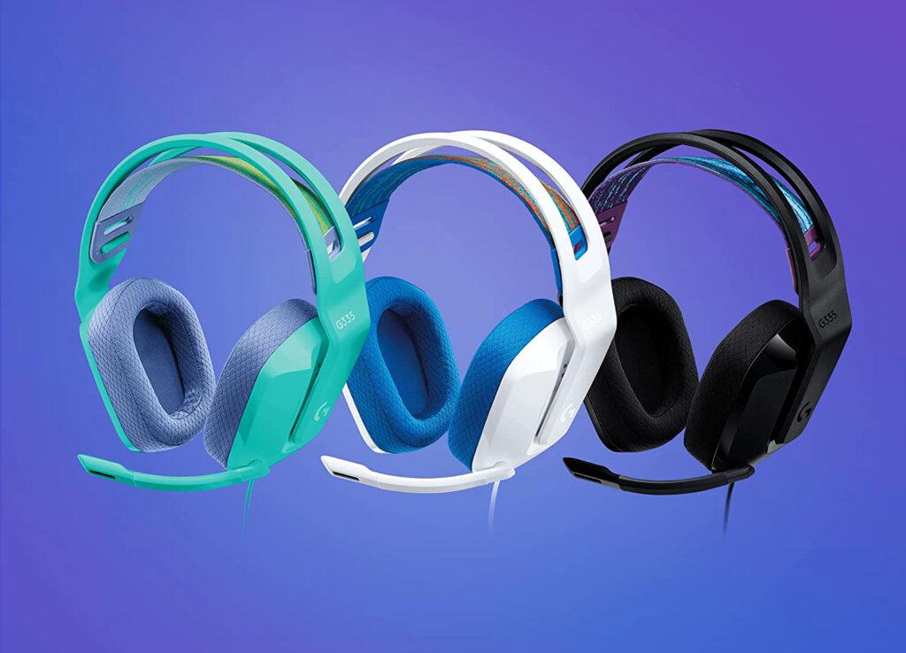 Le nouveau casque filaire gaming Logitech G335 sort aujourd'hui ! www.heavybull.com