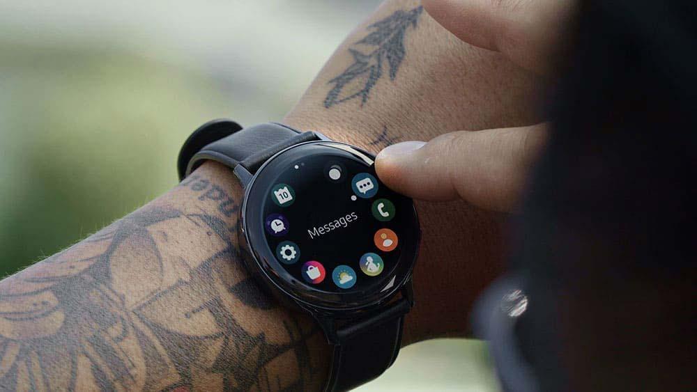 La montre connectée Samsung Galaxy Watch Active2 est à -30%  - www.heavybull.com