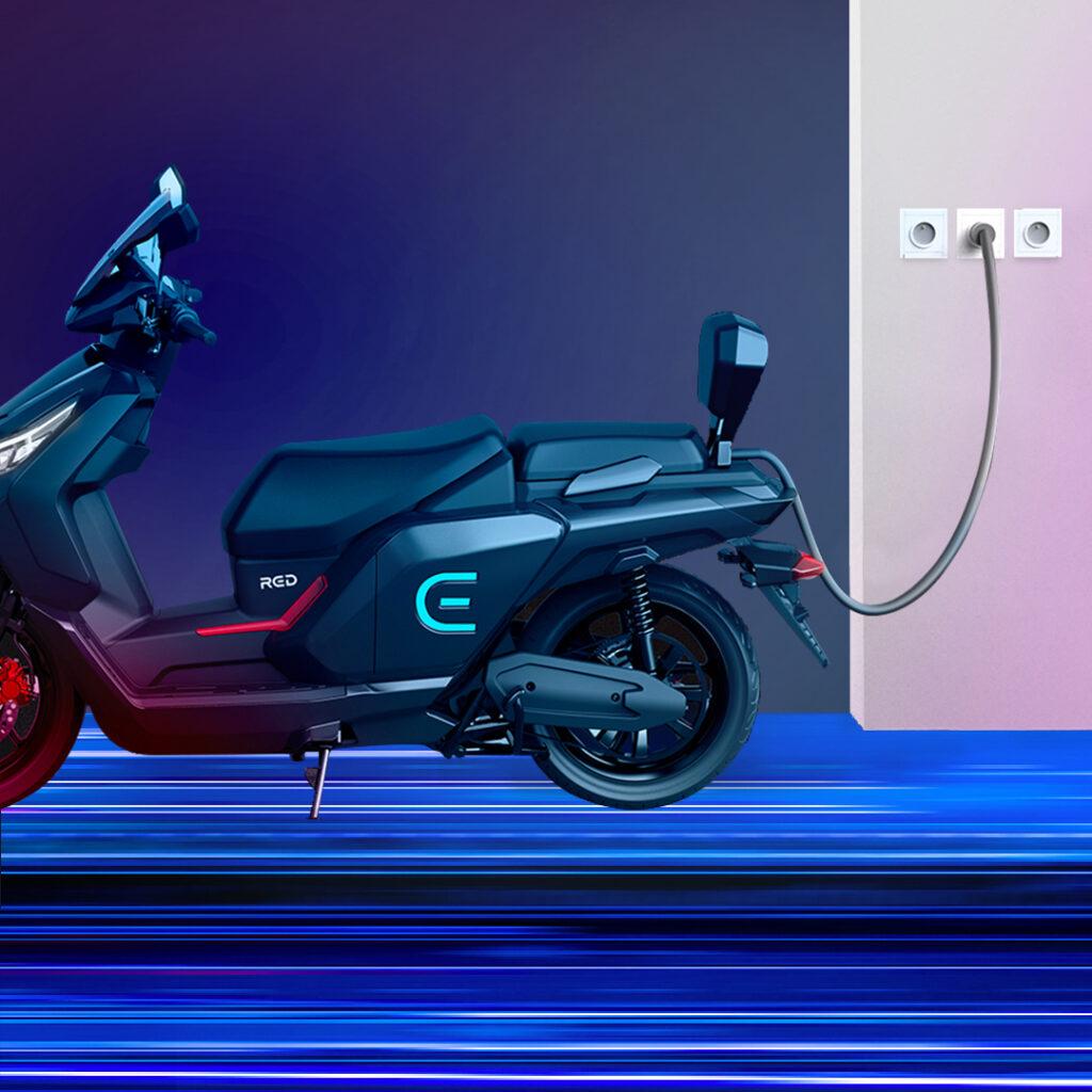 Red Electric E : le scooter électrique moderne et puissant - www.heavybull.com