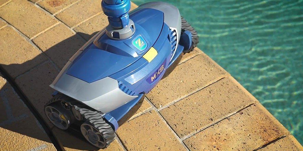Robot de piscine Zodiac MX8 - www.heavybull.com
