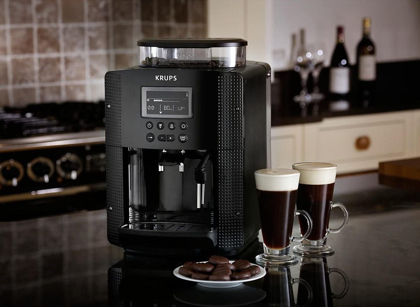 La machine à café avec broyeur de Krups est à -30% - www.heavybull.com